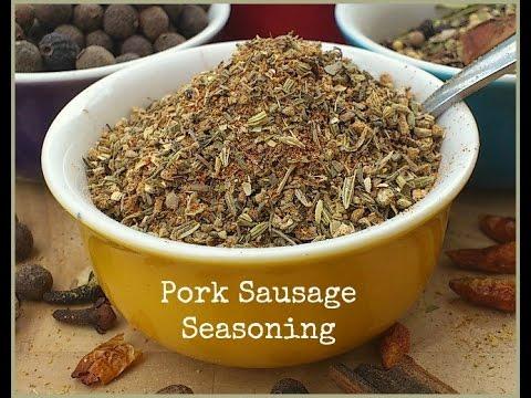 How to Make Pork Sausage Seasoning - Perfect For Pork!