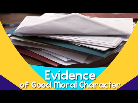 IMMIGRATION: 5 Examples of evidence that prove good moral conduct