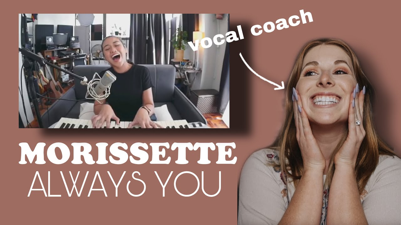 """Vocal coach reacts to Morissette Amon- """"Always You"""""""