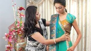 The Art of Saree Draping by Dolly Jain - Part 1