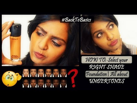 How to: Select your perfect foundation shade | All about undertones | Brown skin