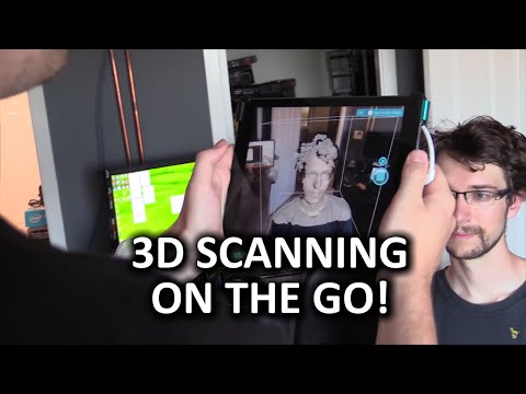 Occipital Structure Sensor - 3D scan your face and more!
