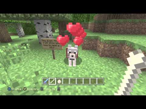 Minecraft: Xbox One Edition How To Tame a Wolf