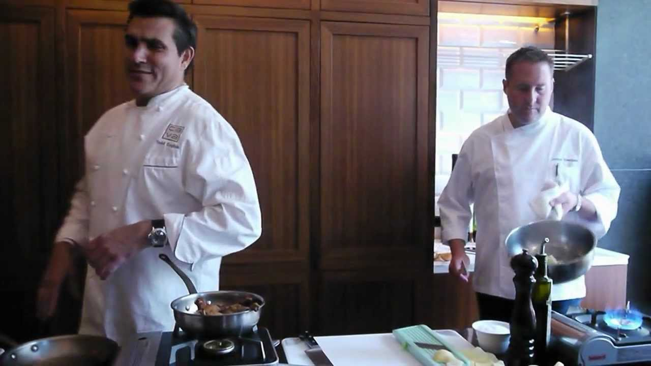 Chef Todd English Cooking Presentation