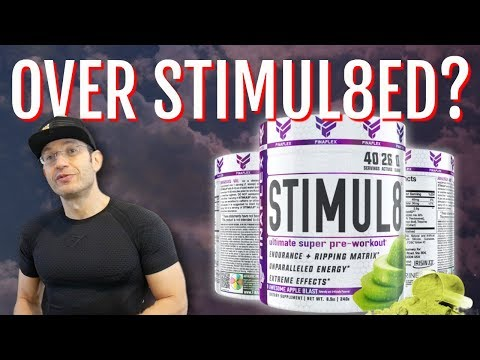 DO NOT Double Scoop | FINAFLEX STIMUL8 Review [Stim heavy Pre Workout]