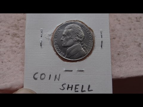 DIY:coin shell, cheap and easy way to make at home
