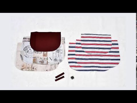 Shine Sewing Tutorial Bag with Flap