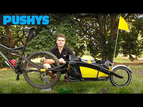 PUSHYS REVIEW: Topeak Journey Trailer with Drybag