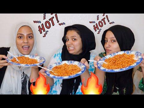 2x Spicier Nuclear Hot Noodle Challenge 🌶 🍜