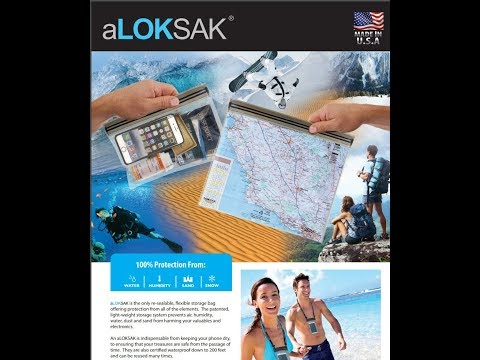 aloksak waterproof bag review