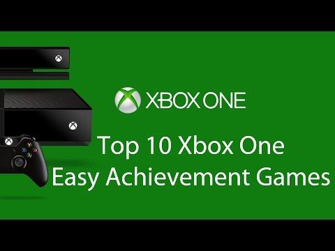 Top 10 Xbox One Easy Achievement Games