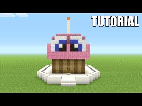 Minecraft Tutorial: How To Make CHICA'S CUPCAKE!!