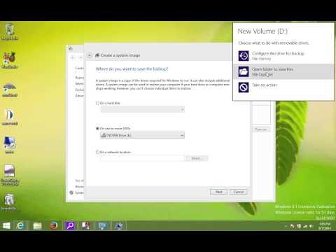 Windows 8 1 System Image Backup