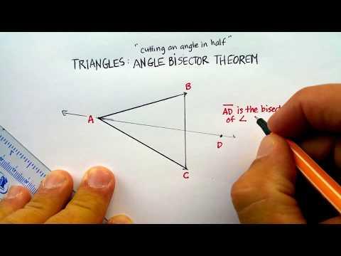 Triangles: Angle Bisectors