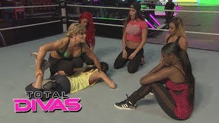 The Divas show off their in-ring skills: Total Divas bonus clip, March 16, 2014