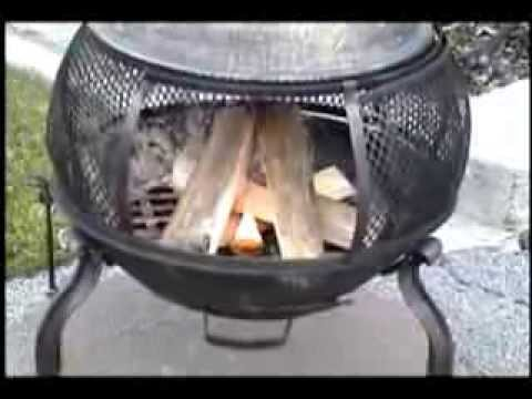 Lightning Nuggets Starting a Chiminea
