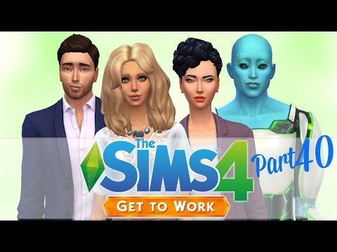 Let's Play: The Sims 4 Get To Work   Part 40   Perk Points!