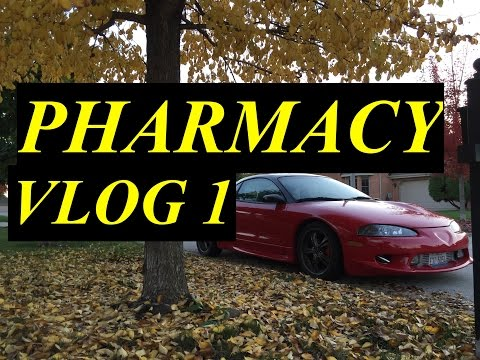 DAY IN THE LIFE OF A PHARMACY STUDENT | VLOG 1