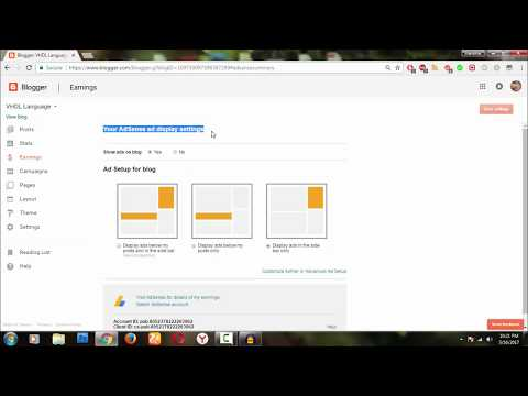How to Earn Money From Blogger com By Linking Adsense Account to Blogger