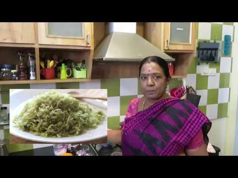 Puthina satham/Mint rice/Lunch box special/Sivakasi Samayal 492