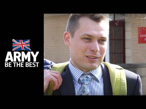 AOSB Candidate Adam Jones - Army Reserve Officer - Army Jobs