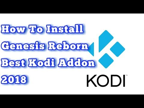 How To Install Genesis Reborn | Kodi Addon | Best Layout For Movies And TV Shows