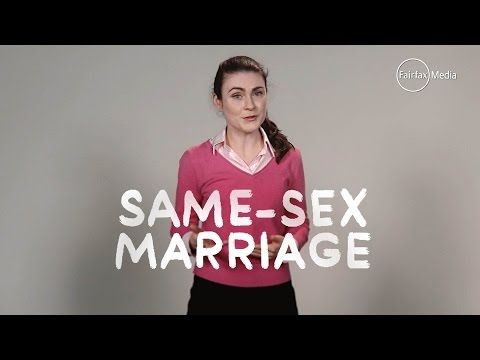 Same-sex marriage - the facts