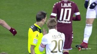 Highlights Torino FC-AC Milan 16th January 2017 Serie A