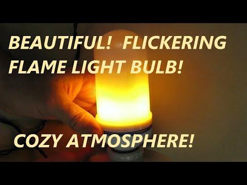 REVIEW Patekfly Flame Bulb Atmosphere light bulb - E26 Spiral lamp