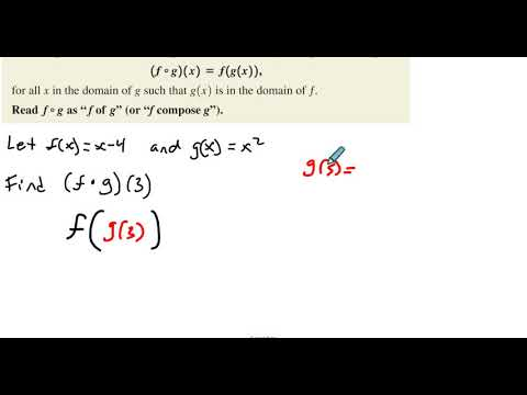 4.3 Example 5 Finding a Composite Function