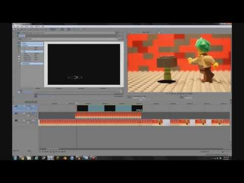 How to Make Legos Fly! (With any video editor) Masking Tutorial