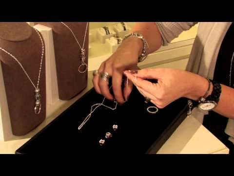 Pandora Jewelery ~ How To Create A Charm Necklace With A Ring Pendant