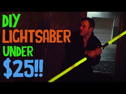 DIY Lightsaber Battle