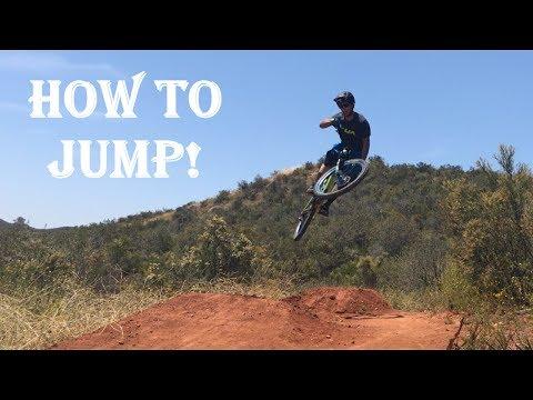 HOW TO JUMP ON A MOUNTAIN BIKE! | Mountain bike skills