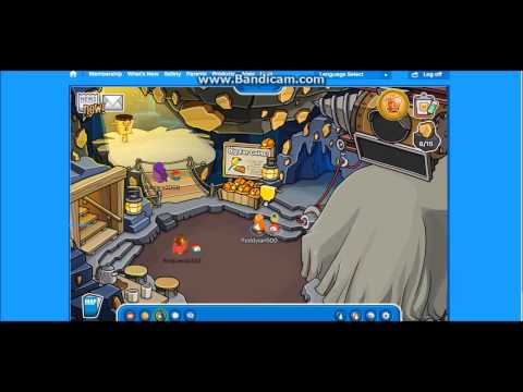 Club Penguin: How too get the Golden Puffle