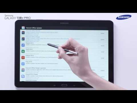 Samsung Galaxy Tab Pro - Hancom Office How-to