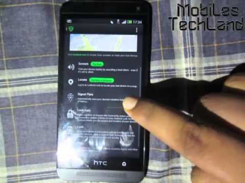 HTC One -- Finding Your Lost or Stolen Phone