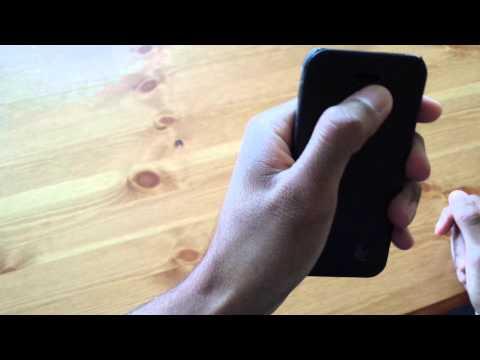 JisonCase Genuine Leather Folio Case for iPhone 5S / 5