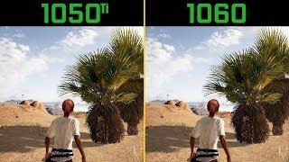 PUBG GTX 1050 Ti vs. GTX 1060 (Desert Map)