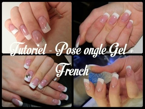 TUTORIEL - Pose Ongle Gel + French
