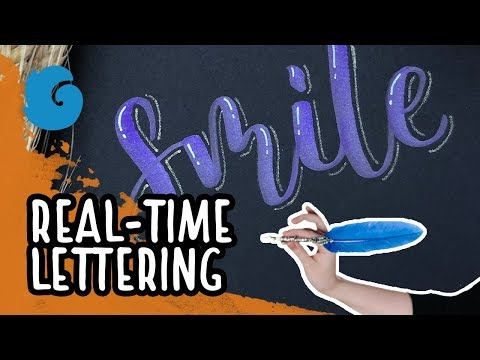Real-Time Lettering: Smile