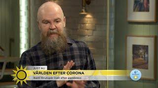 """Alexander Bard om världen efter corona: """"Bion är död"""" - Nyhetsmorgon (TV4)"""