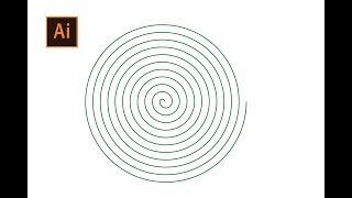 How to draw a perfect spiral in adobe illustrator Adobe