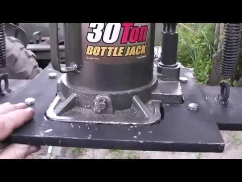 How I Contructed the Cheap DIY Hydraulic Hose Crimper Part 2