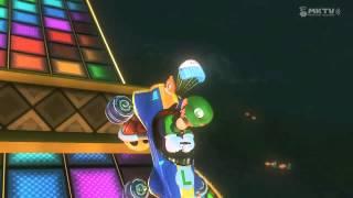 Mario Kart 8: 1st Place Luigi gets DOUBLE PENETRATED