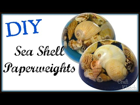 Sea Shell Resin Paperweight | DIY Project | Craft Klatch | Resin Projects | How To