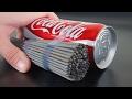 EXPERIMENT: SPARKLERS vs COCA COLA