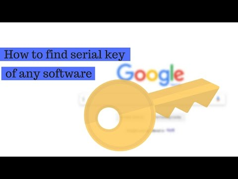 How To Find Serial Key Of Any Software For Free | Free Activation Key