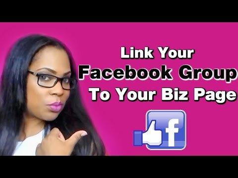 Facebook Group - How to link a Facebook Group to a Page