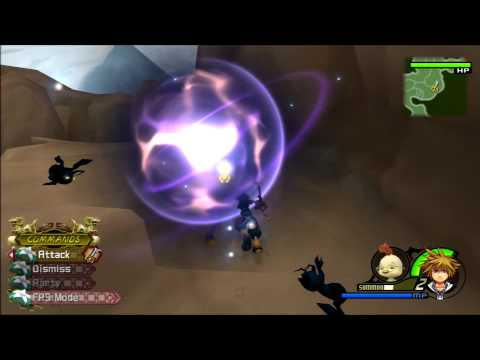Kingdom Hearts II FM [PS3] Commentary #028, Summon Leveling; Hard-to-Get Puzzle Pieces